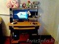 продажа стола с навесной  полкой и копьютерный стол