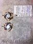 Золотые серьги с фианитом 6, 13 гр